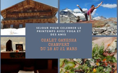 Canceled – will be postponed – The yogic getaway in Champéry from February 4 to 7